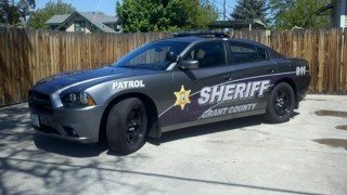 Sheriff's patrol car