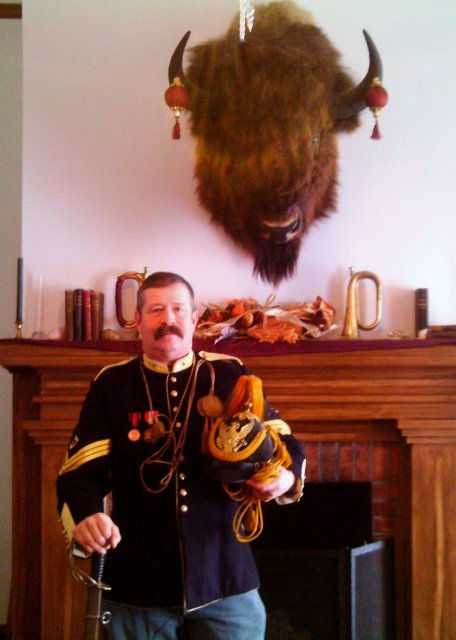First Sergeant and Buffalo Trophy
