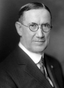 North Dakota Governor L. B. Hanna