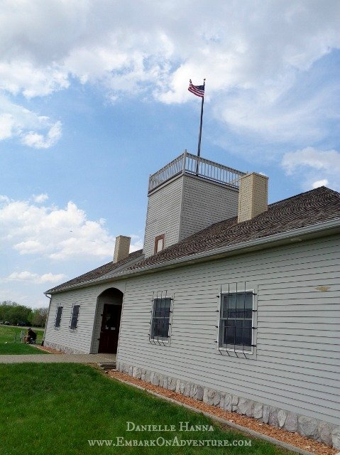 Guardhouse, Fort Stevenson